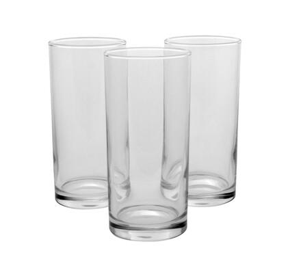 Vysoké sklenice kulaté