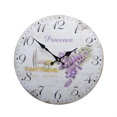 Nástěnné hodiny Levandule HLC14063