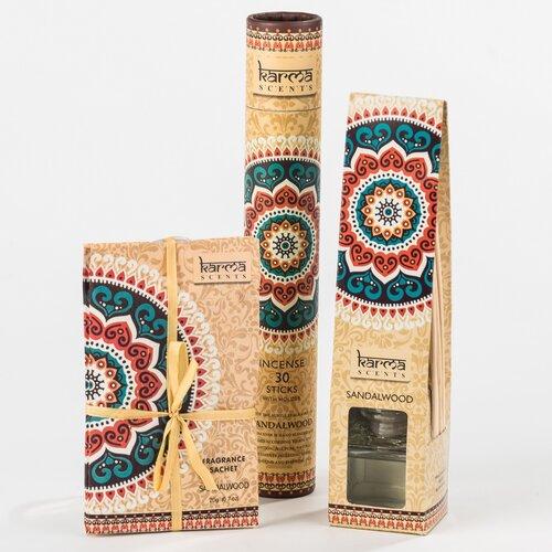 Vonné sáčky Santalové drevo, 3 ks