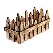 Drewniana osłonka na doniczkę Fency, 33 x 18 x 13 cm
