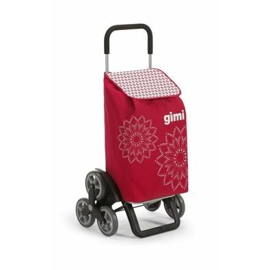 ... Gimi Nákupná taška na kolieskach Tris Floral červená 9992dc8a78