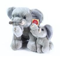 Pluszowy słoń ze słoniątkiem Rappa, 27cm