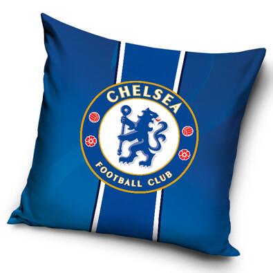Polštářek Chelsea FC Stripes, 40 x 40 cm