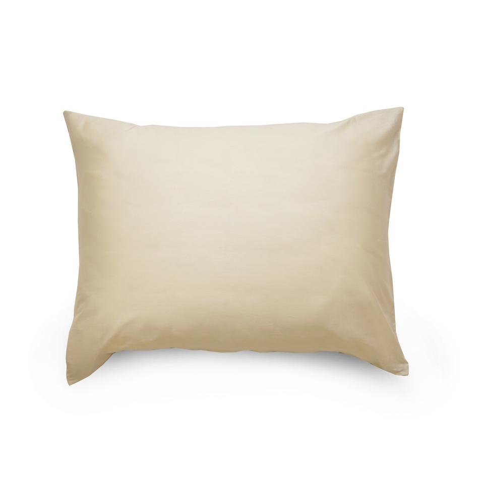 Kvalitex Obliečka na vankúš satén smetanová, 70 x 90 cm, 70 x 90 cm