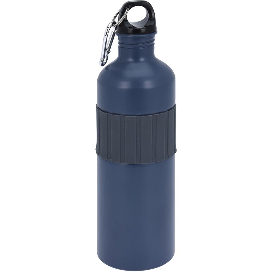 Koopman Sportovní hliníková láhev s uzávěrem 750 ml, grey