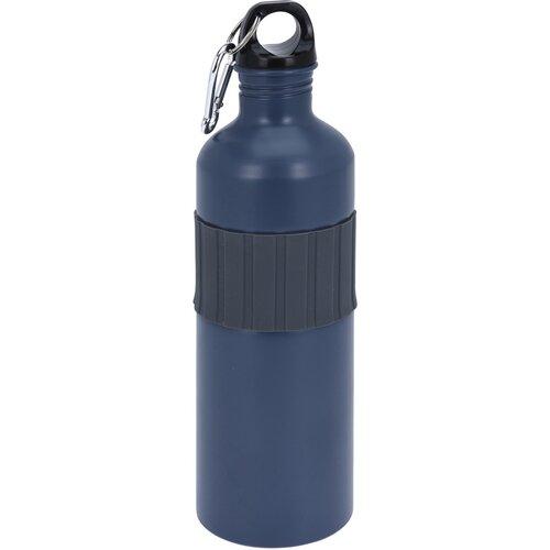 Sportovní hliníková láhev s uzávěrem 750 ml, grey