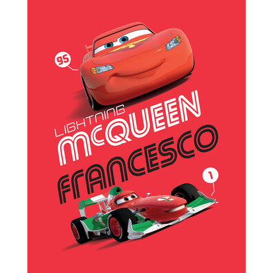 Detská deka Cars Francesco 2014, 120 x 150 cm