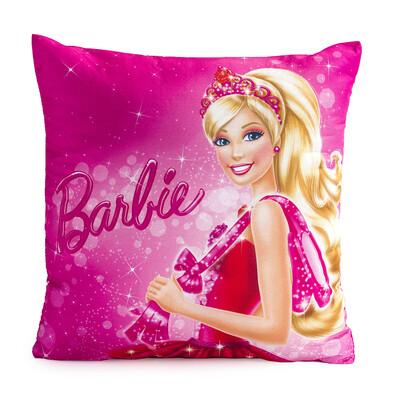 Polštářek Barbie růžová, 40 x 40 cm