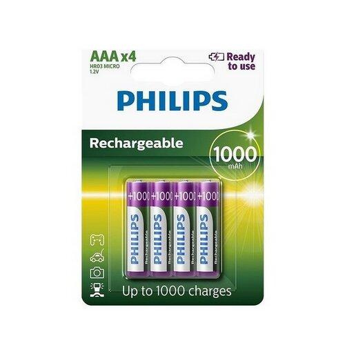 Philips AAA 1000mAh 4ks R03B4RTU10/10