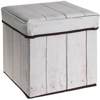 Ladă cu banchetă Wooden Maple, 30 x 30 x 30 cm