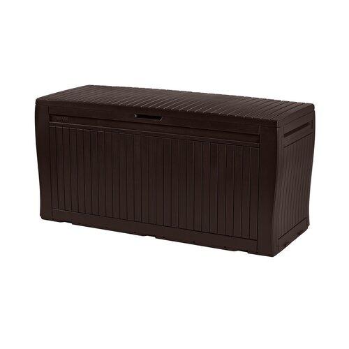 Keter Zahradní úložný box Comfy hnědá, 270 l