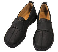 Orto Plus Dámská obuv na suchý zip vel. 42 černá