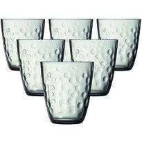 Luminarc Komplet szklanek CONCEPTO PEPITE 310 ml, 6 szt., szary