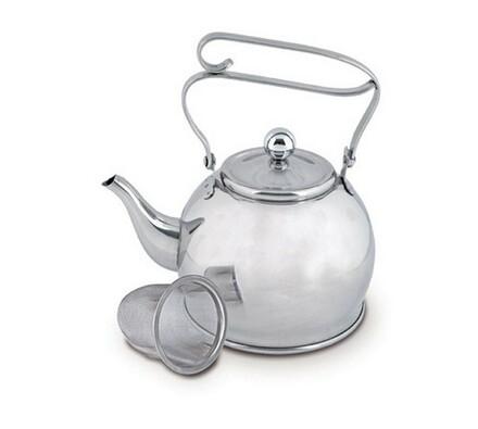 Čajník nerez se sítkem 0,65l
