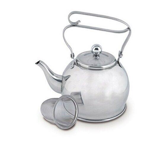 Čajník nerez so sitkom 0,65 l Orion