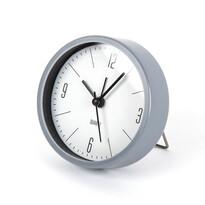 Ceas deşteptător Round gri, diam. 9,2 cm