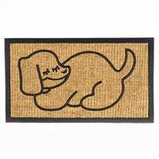 Rohožka slabá spící pes, 40 x 70 cm