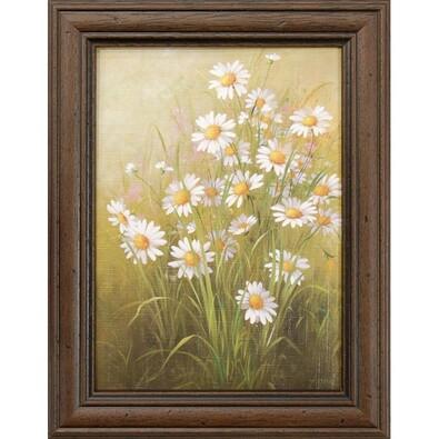 Reprodukce Bílé květiny, 13x18 cm