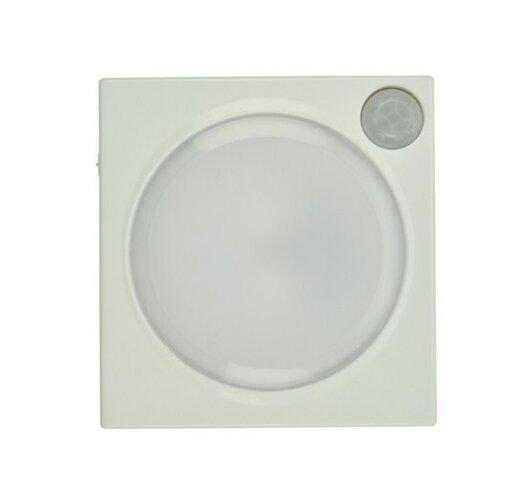Solight WL96 LED světélko s pohybovým a světelným senzorem, čtvercové, 0,3W LED, 3x AAA