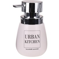 Dozownik na mydło w płynie Urban kitchen, biały