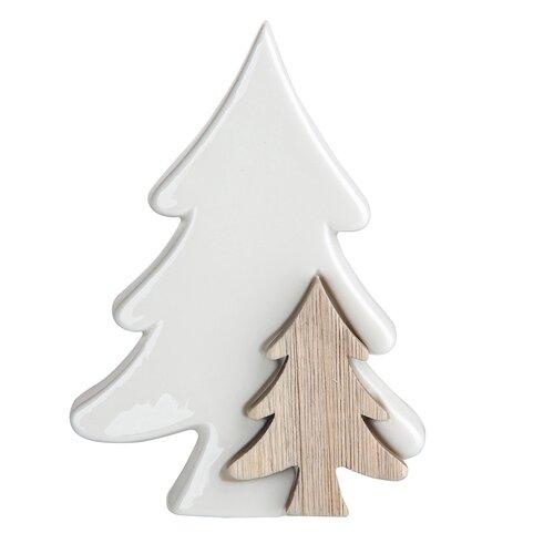 Altom Vianočná dekorácia Stromček, biela