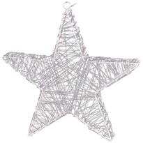 Gwiazda świąteczna Rapallo srebrny, 50 LED