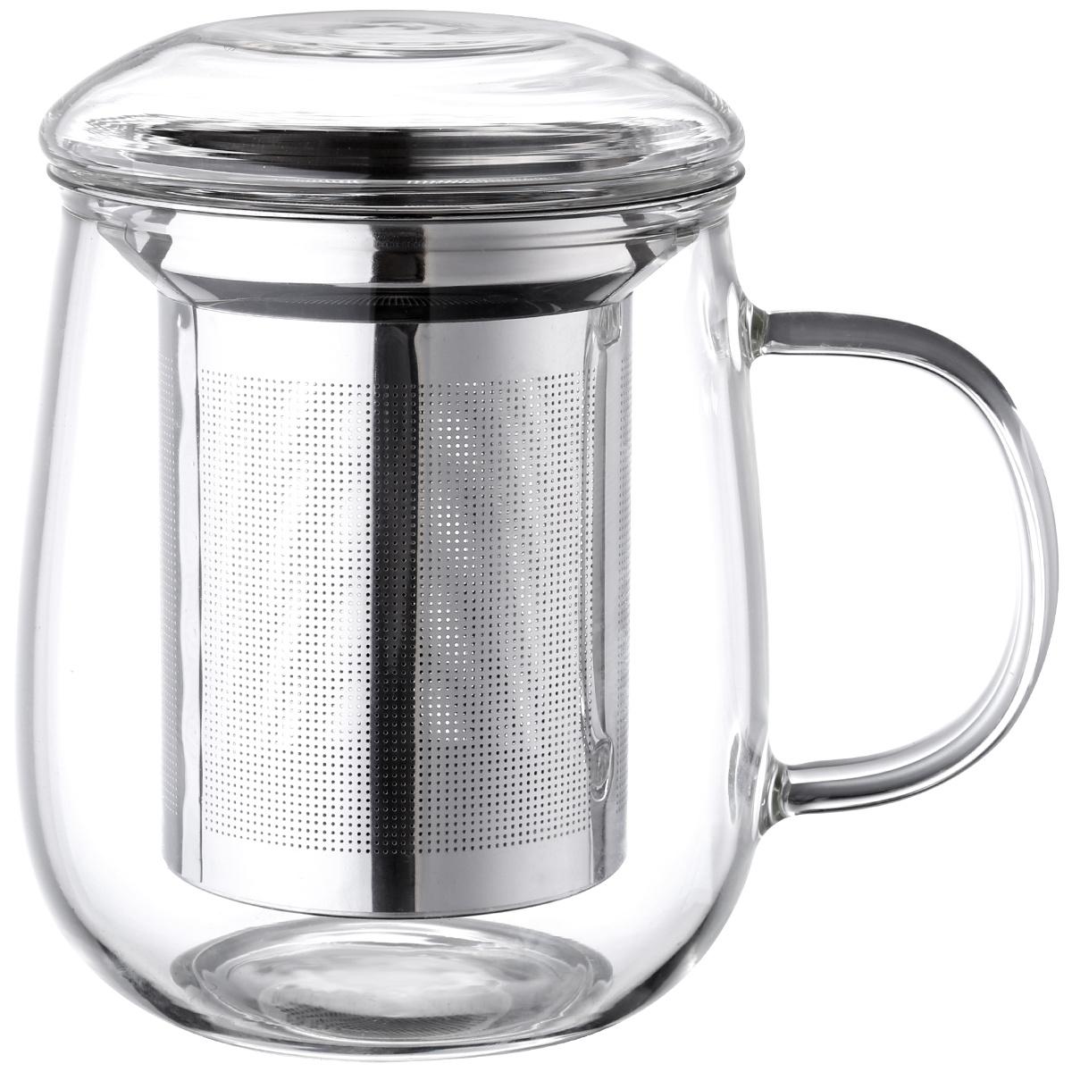 4Home Hrnček na čaj so sitkom 330 ml