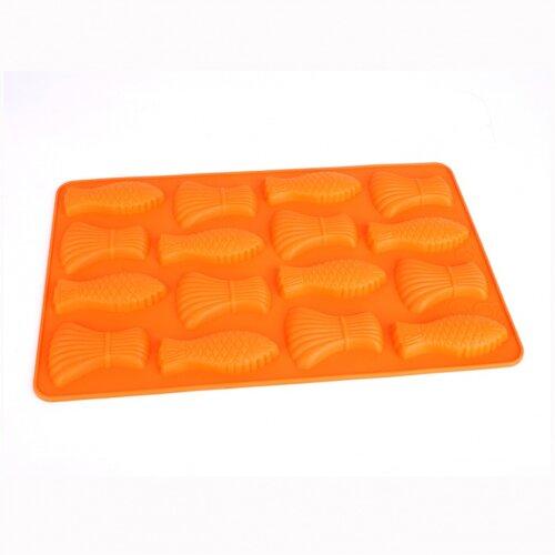 Forma silikonová - mašličky a rybičky
