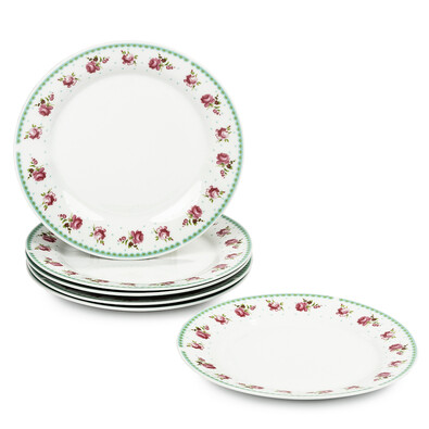 Sweet Home 6dílná sada mělkých talířů 23 cm