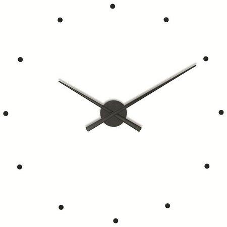 Nomon OJ nástěnné hodiny, černé