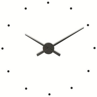 Nomon OJ nástěnné hodiny černé