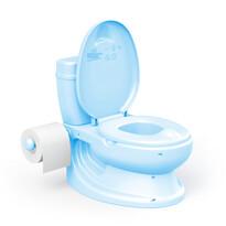 Dolu gyermek WC, kék