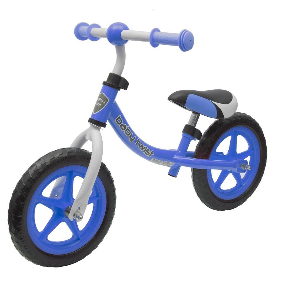Baby Mix Detské odrážadlo bicykel Twist, modrá