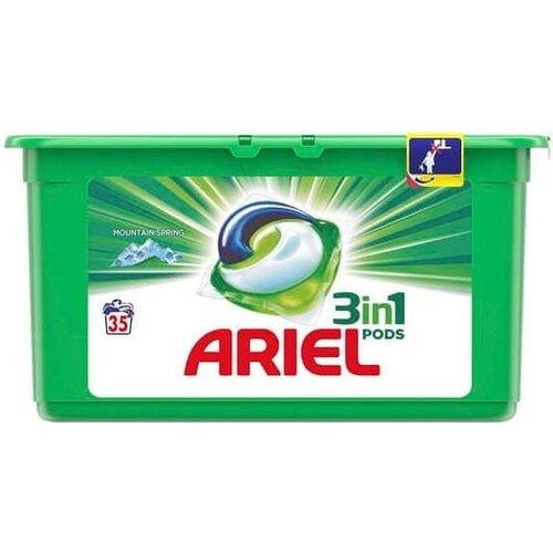 Ariel Gelové kapsle na praní Mountain Spring, 33 ks