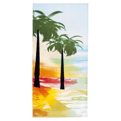 4Home Plážová osuška Palmy, 75 x 150 cm