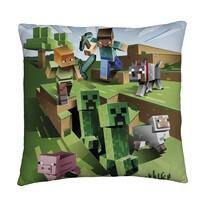 Pernă Minecraft cu două fețe, 40 x 40 cm