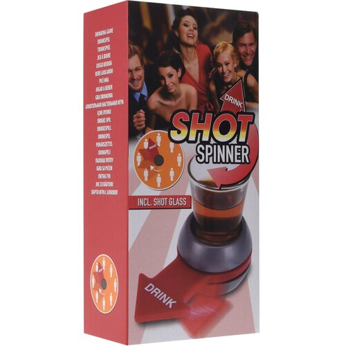 Drinking shot spinner party játék