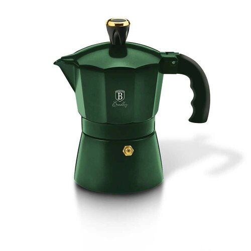 Berlinger Haus Kanvica na espresso 3 šálky Emerald Collection