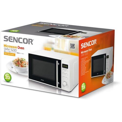 Sencor SMW 5220 mikrovlnná rúra, biela
