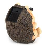 Solárne svetlo ježko, hnedá