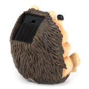Solární světlo ježek, hnědá