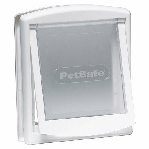 PetSafe Dvierka Staywell 715 biela, veľkosť S