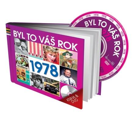 Byl to váš rok 1978, DVD a kniha, vícebarevná
