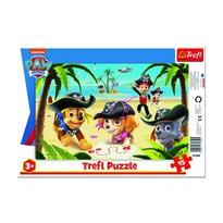 Trefl Puzzle Labková patrola - Pirátská výprava, 15 dielikov