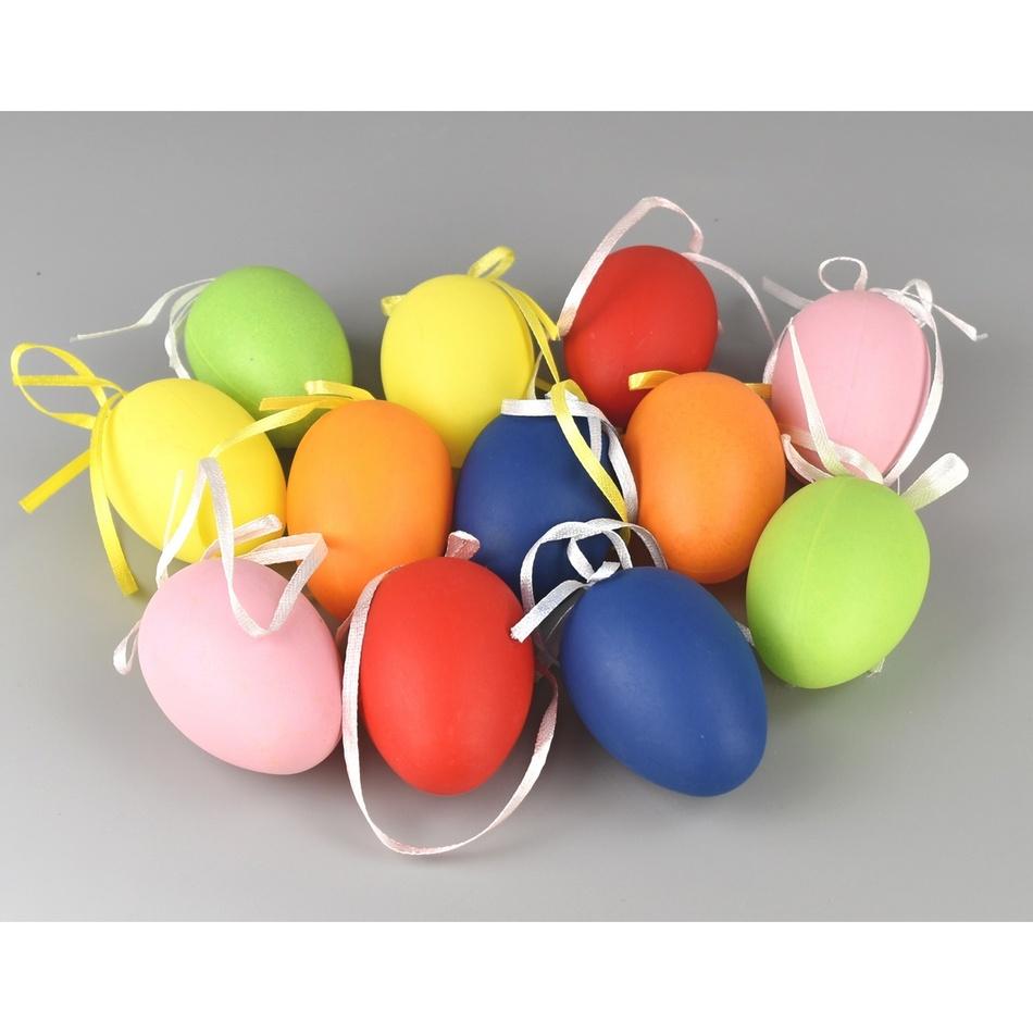 Sada velikonočních barevných vajíček, 12 ks