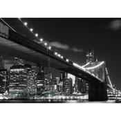 Fototapeta noční město 254 x 360 cm