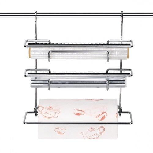 Zásobník na fólie a papierové utierky MONTI, 33 cm