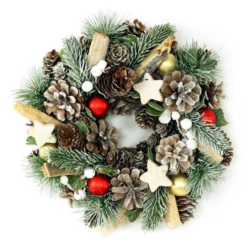 Autronic Věnec, vánoční dekorace PRZ3084