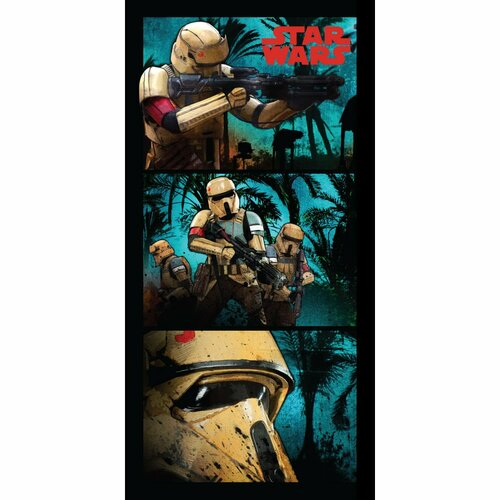 Prosop plajă Star Wars Stormtroopers, 70 x 140 cm