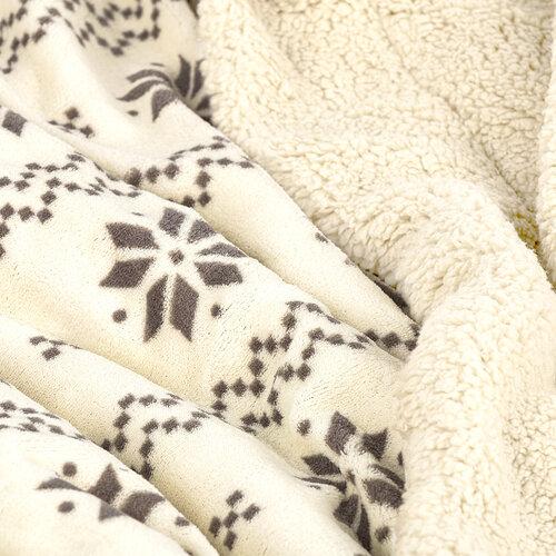 4Home Baránková deka Nordic béžová, 150 x 200 cm